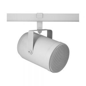 Högtalare för belysningsskena